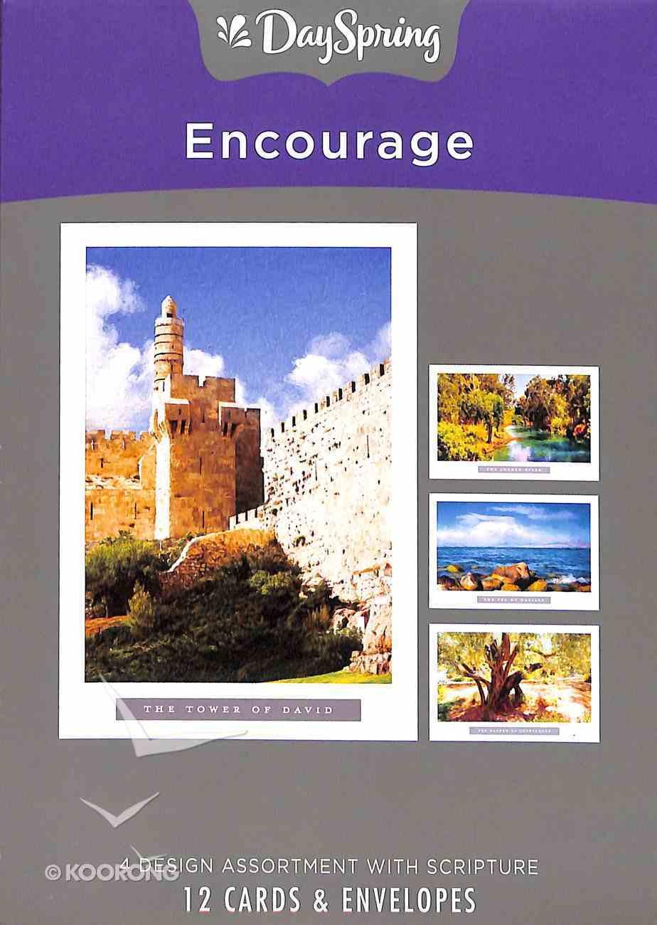Boxed Cards Encourage: Holy Land Box