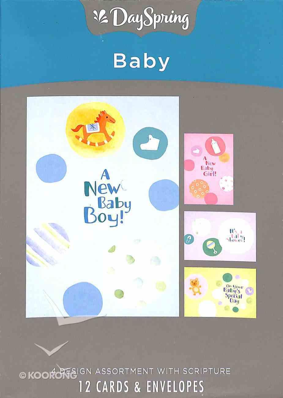 Boxed Cards Baby: Circles Box