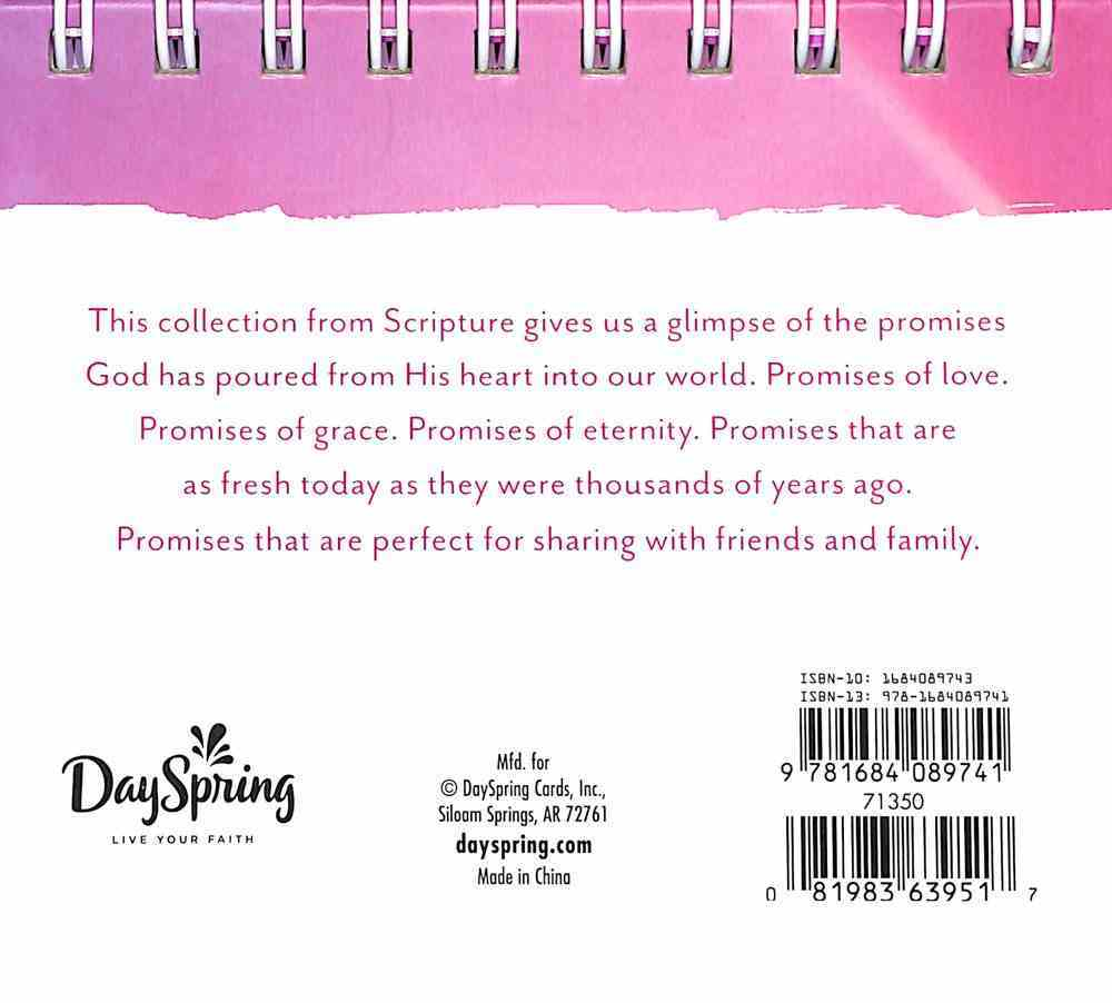 Daybrighteners: Promises From God's Word (Padded Cover) Spiral