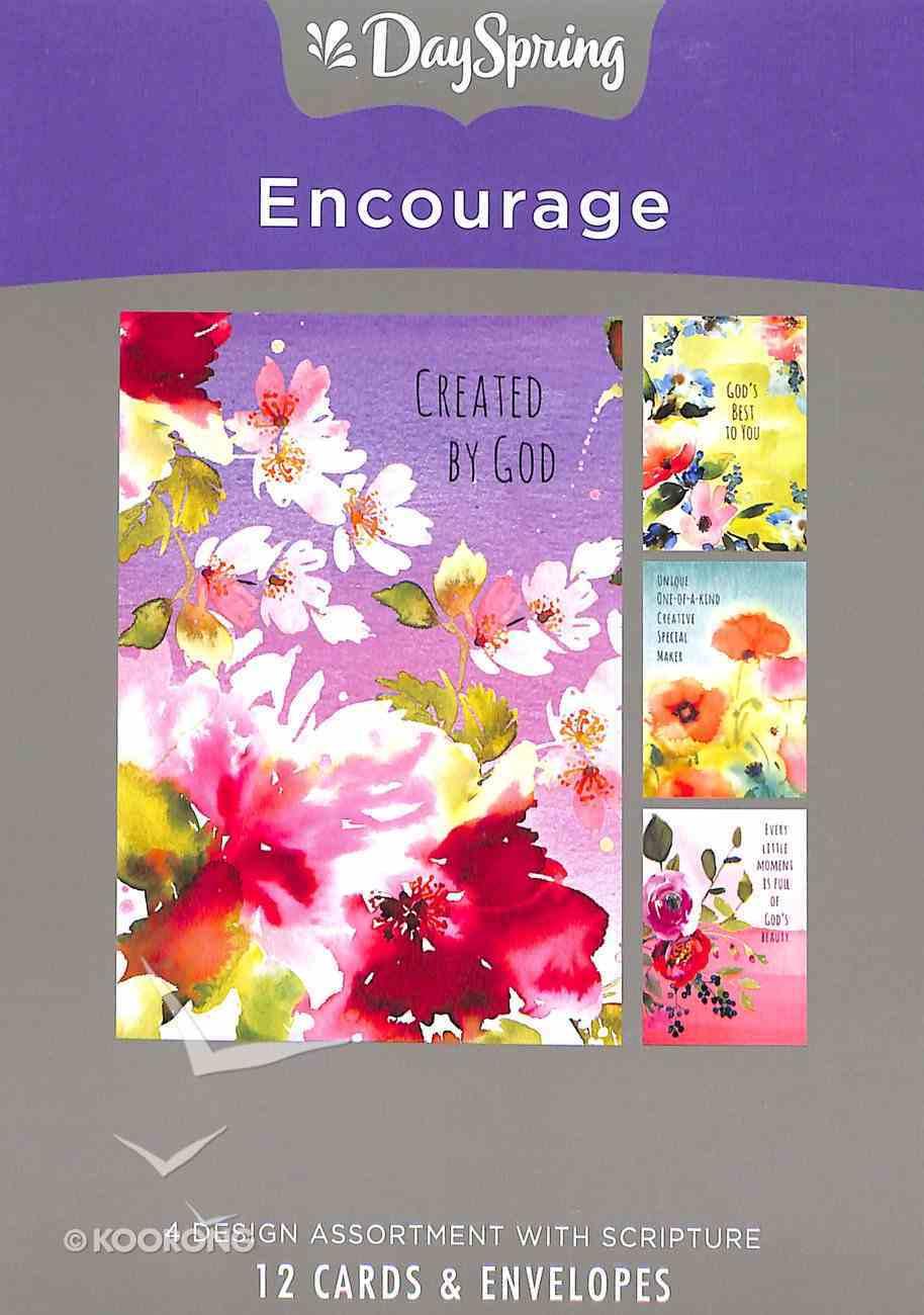Boxed Cards Encourage: Maker, KJV Scripture Text Box