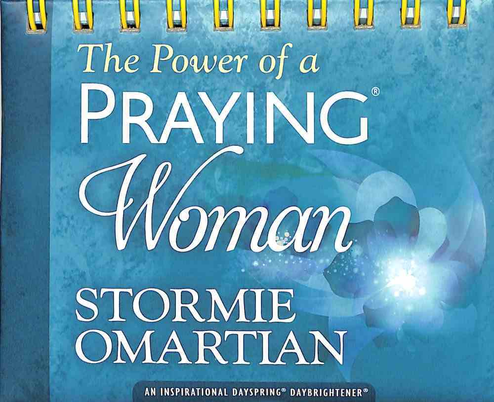 Daybrighteners: The Power of a Praying Woman (Padded Cover) Spiral