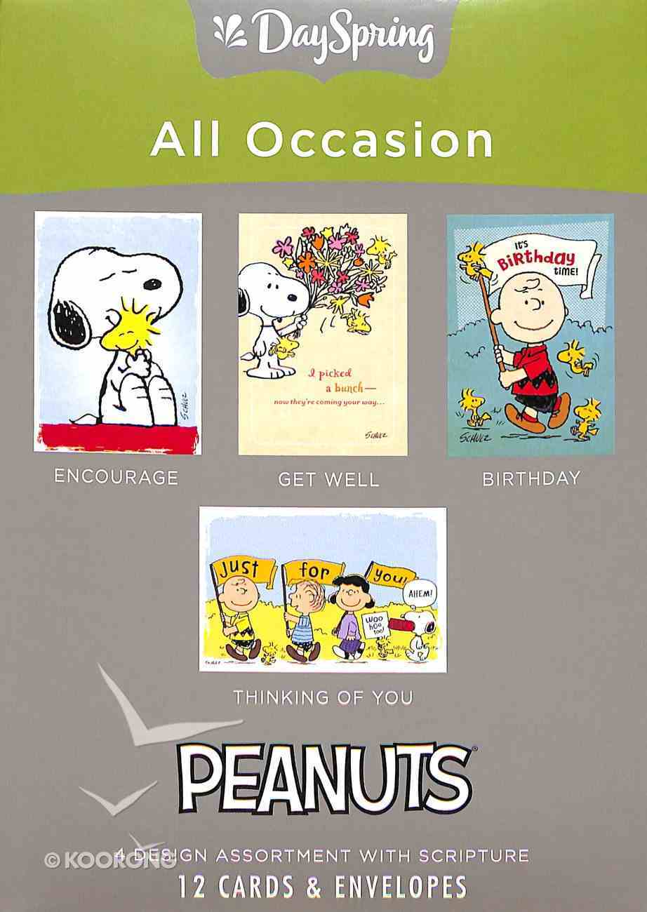 Boxed Cards All Occasion: Peanuts Box