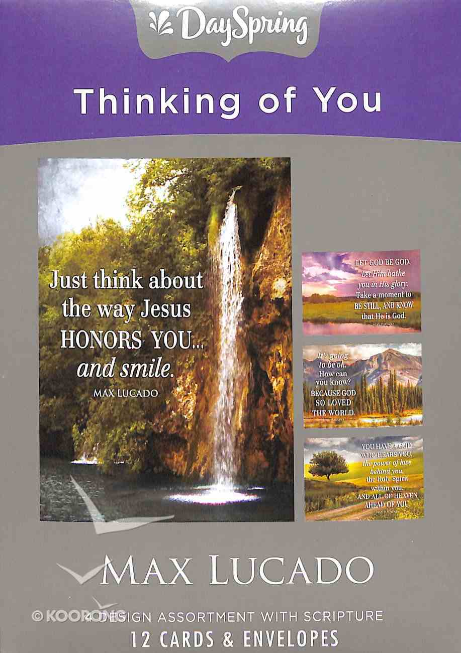 Boxed Cards Thinking of You: Max Lucado Box