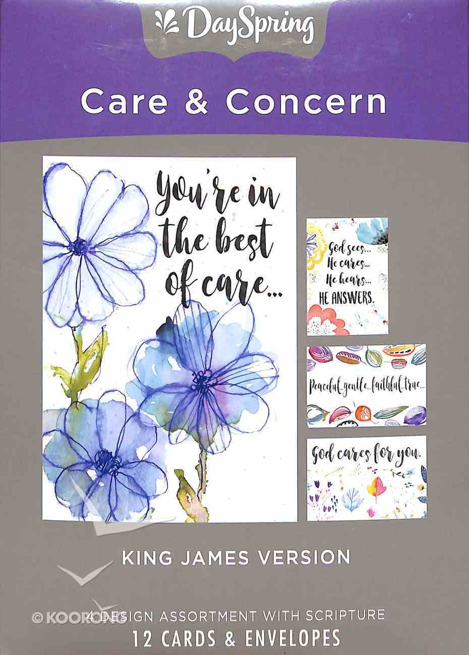 Boxed Cards Care & Concern: Scripture Box