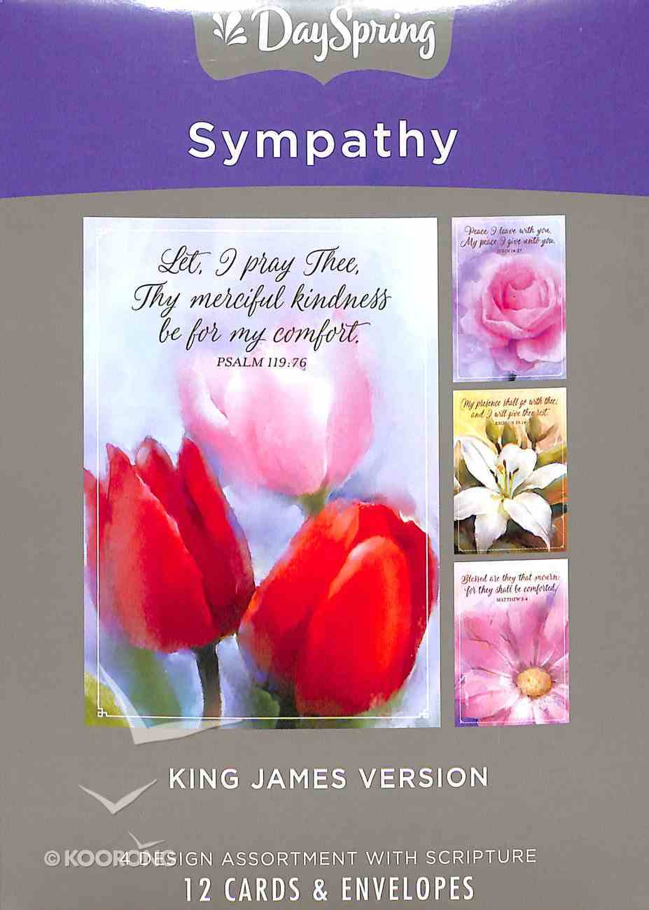 Boxed Cards Sympathy: Flowers Box