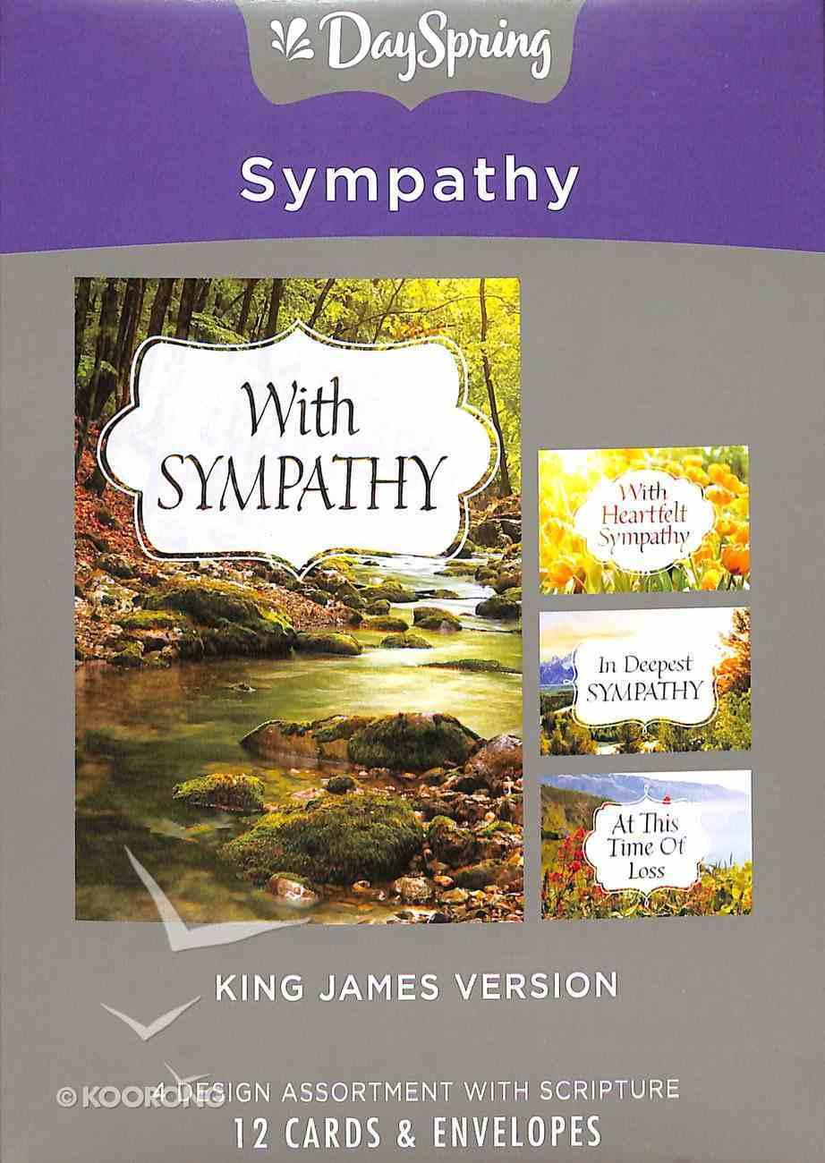 Boxed Cards Sympathy: Landscapes Box