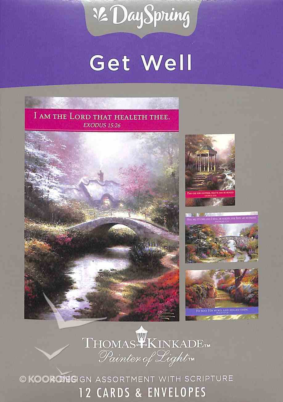 Boxed Cards Get Well: Thomas Kinkade, Painter of Light Box