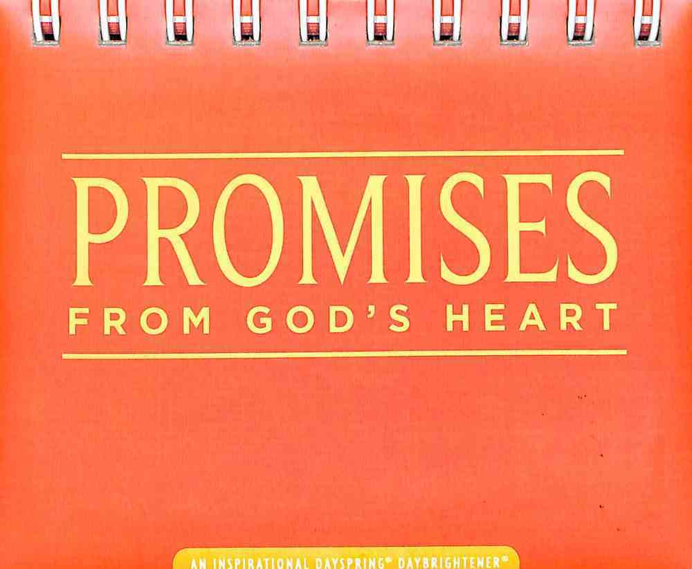 Daybrighteners: Promises From God's Heart (Padded Cover) Spiral
