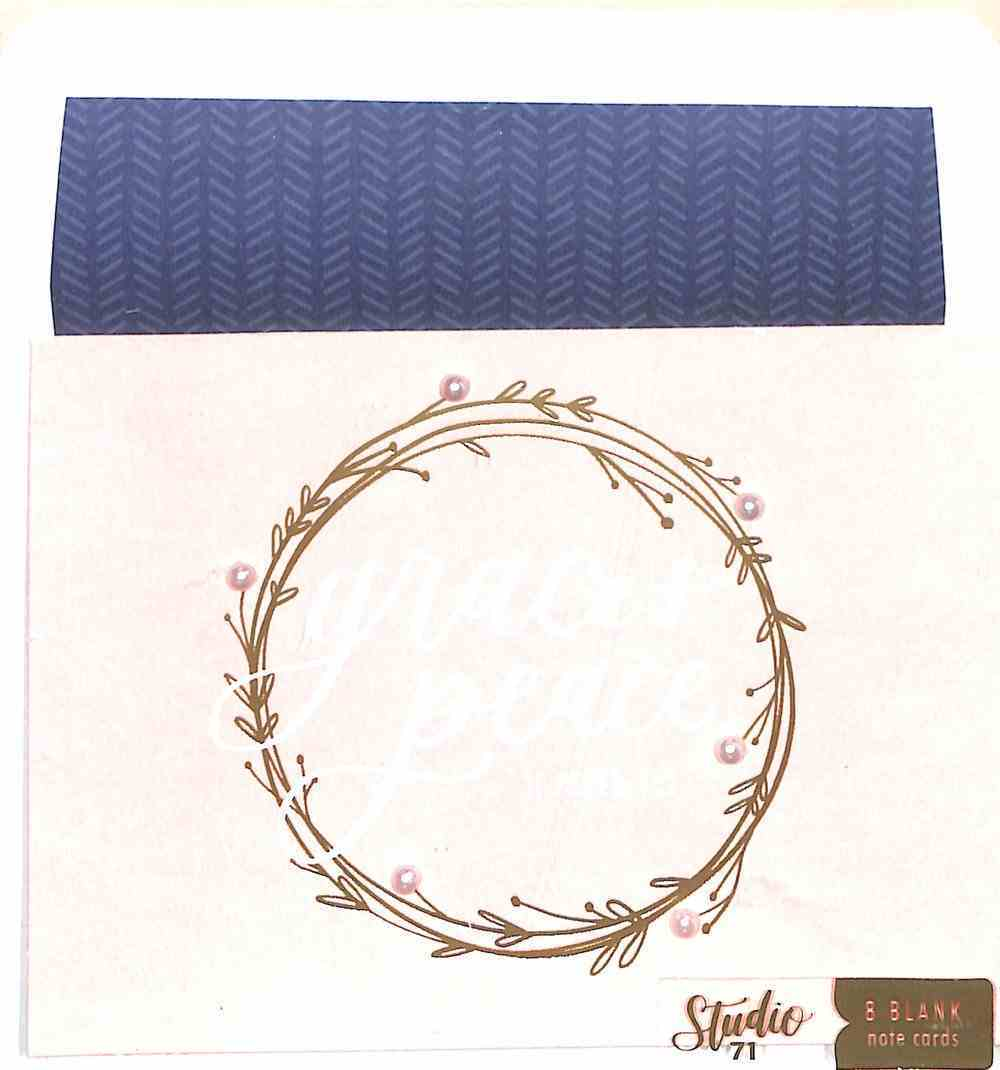 Embellished Blank Note Cards: Grace & Peace Stationery