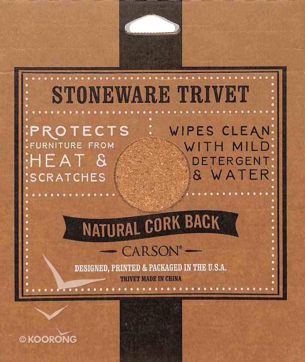 Ceramic Trivet: Live, Laugh, Love, Sunflowers Homeware