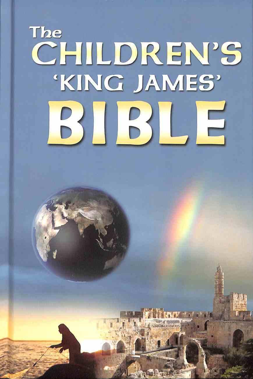 Children's King James Bible Hardback