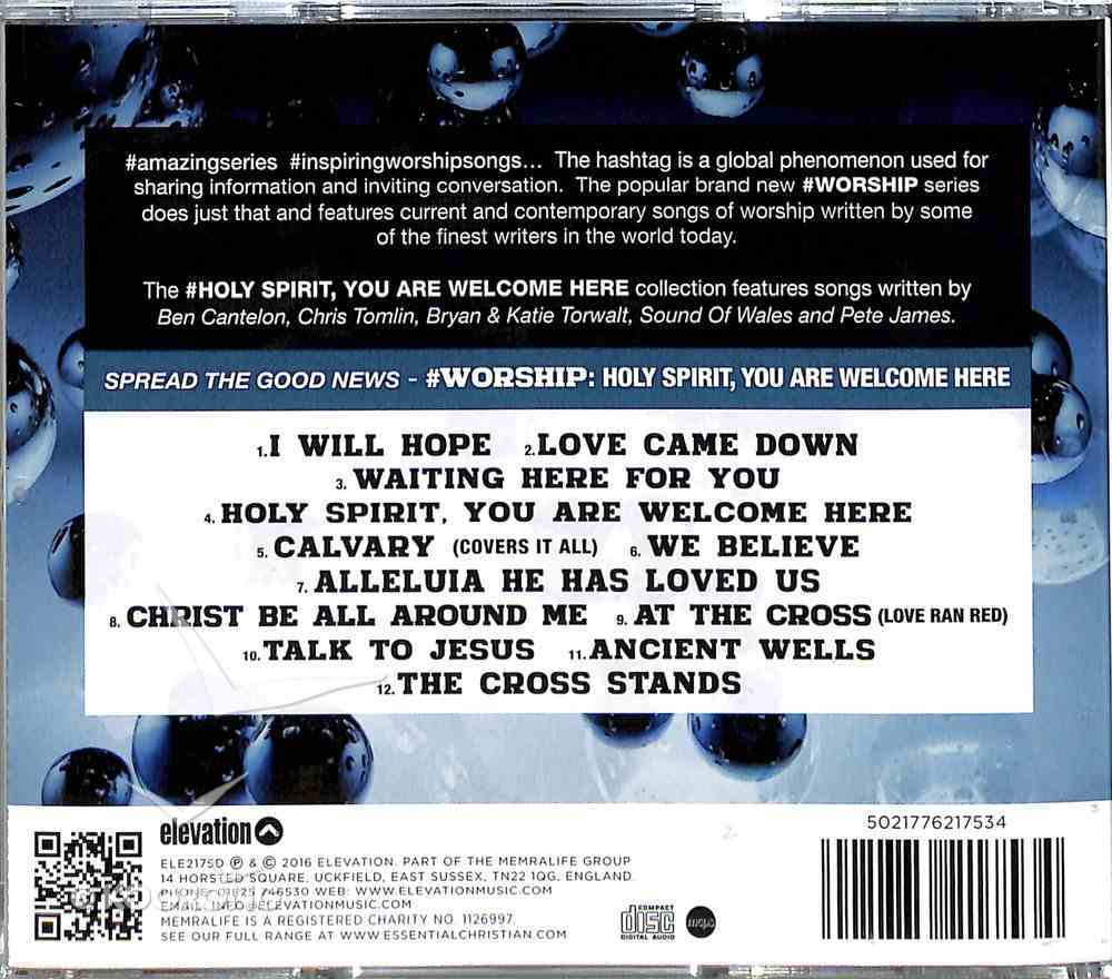 #Worship: Holy Spirit, You Are Welcome Here CD