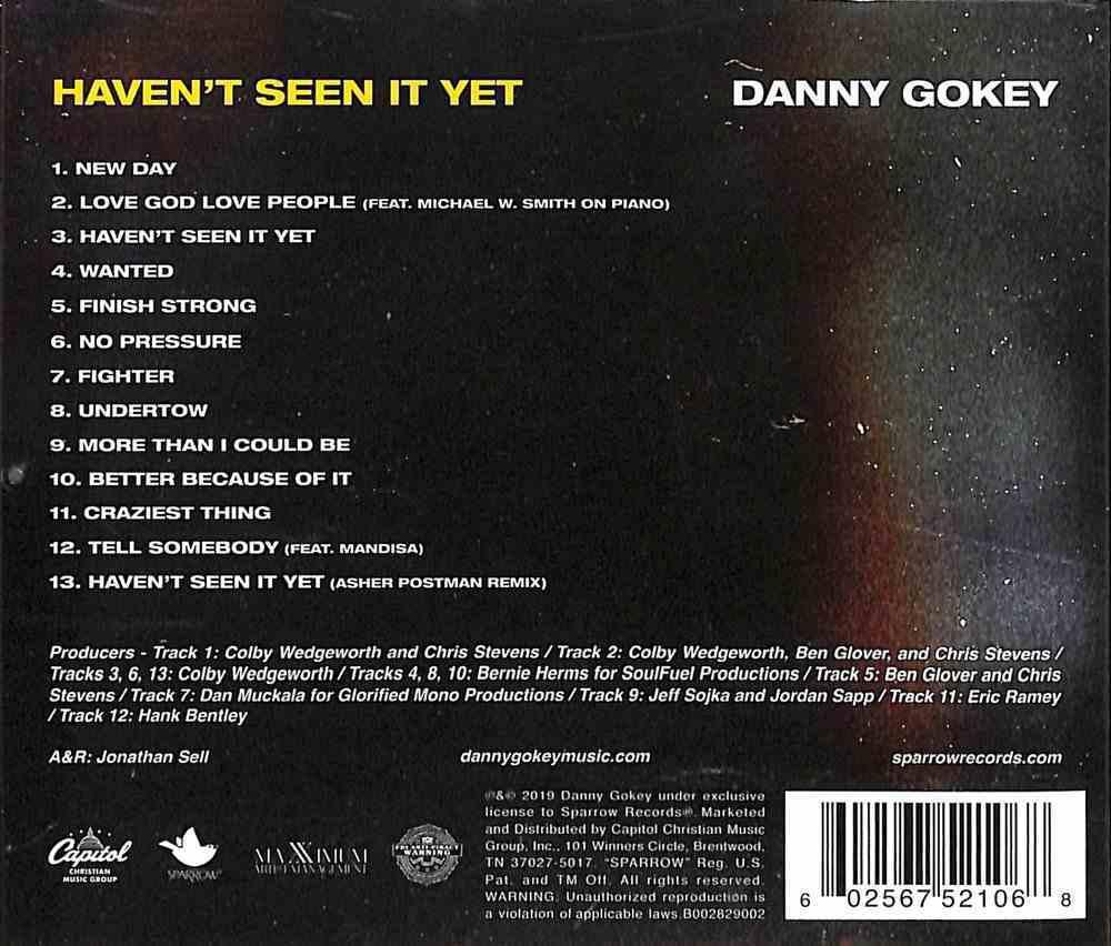 Haven't Seen It Yet CD