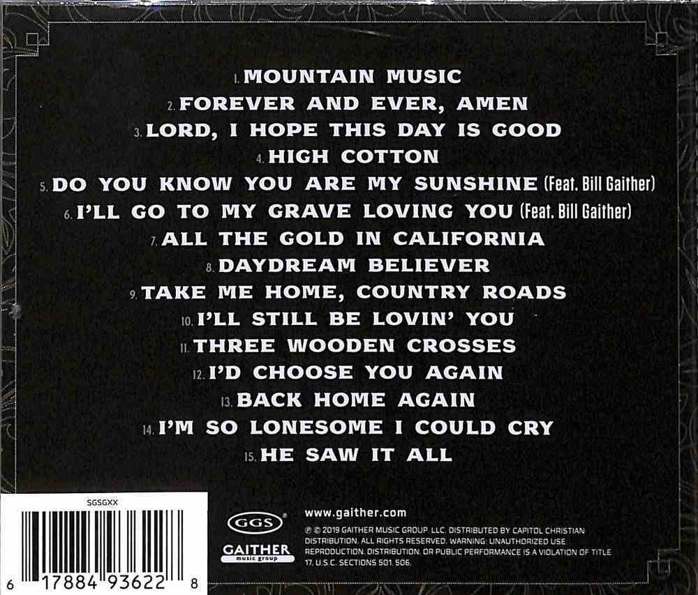 Country Roads: Country and Inspirational Favorites CD
