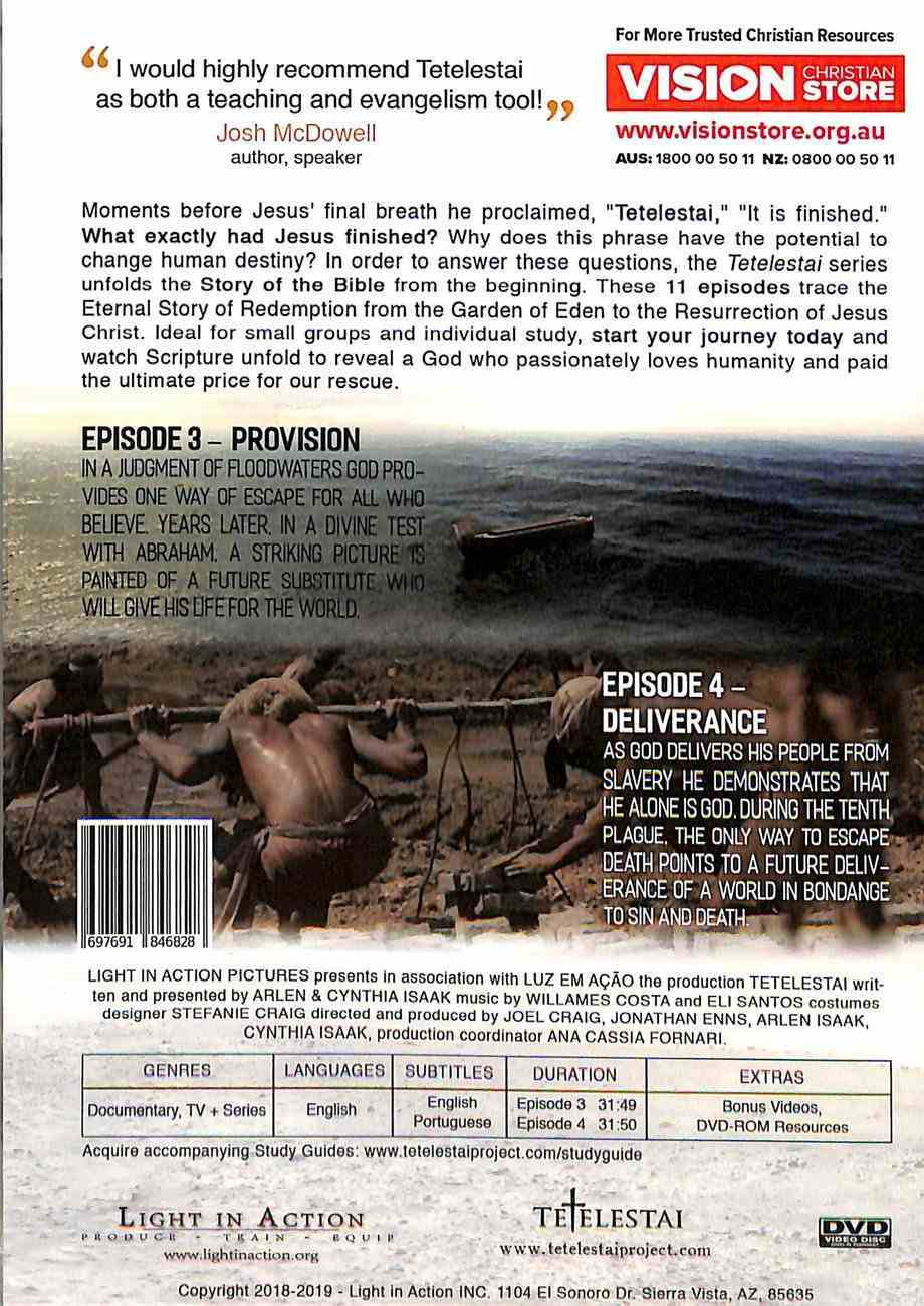 Tetelestai Episodes 3 & 4 (Provision & Deliverance) DVD