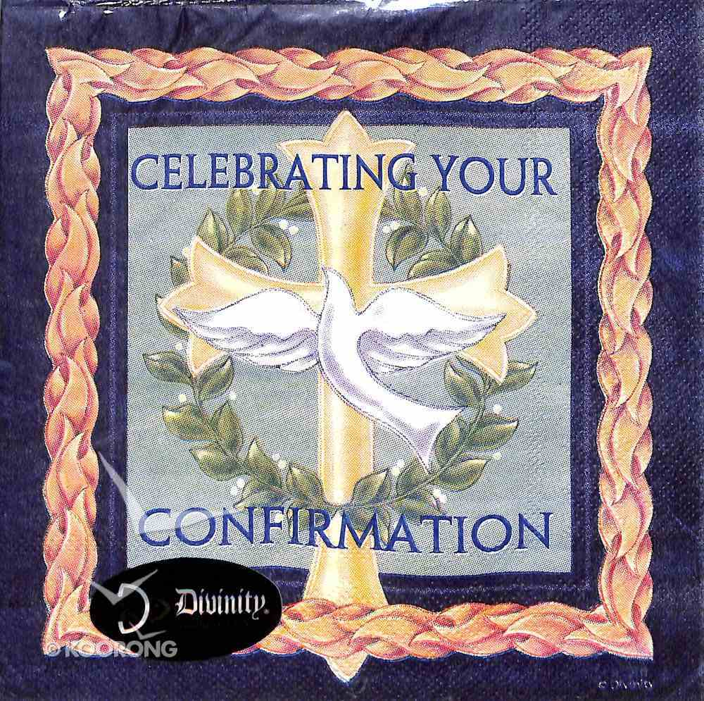 Napkins: Celebrating Your Confirmation, Cross/Dove/Green Wreath Homeware