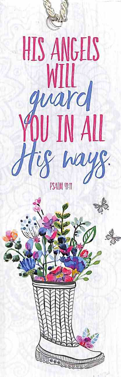 Bookmark Gardening: His Angels Will Guard You in All His Ways (Psalm 91:11) Stationery