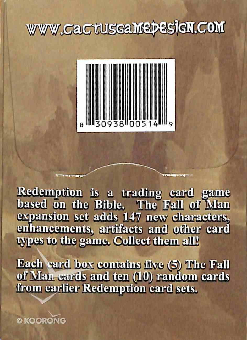 The Redemption: Fall of Man Card Pack (15 Cards) (Redemption Card Game Series) Cards