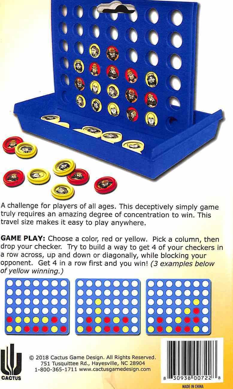 Board Game: 4 in a Row (David & Goliath) Game