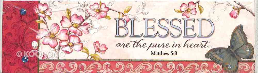 Plaque Simple Harmony: Blessed Are the Pure in Heart (Matthew 5:8) Plaque