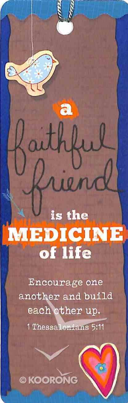 Bookmark With Tassel: Faithful Friend Stationery