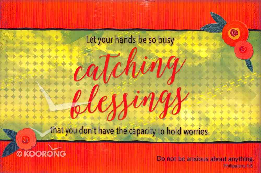 Poster Small: Catching Blessings Poster