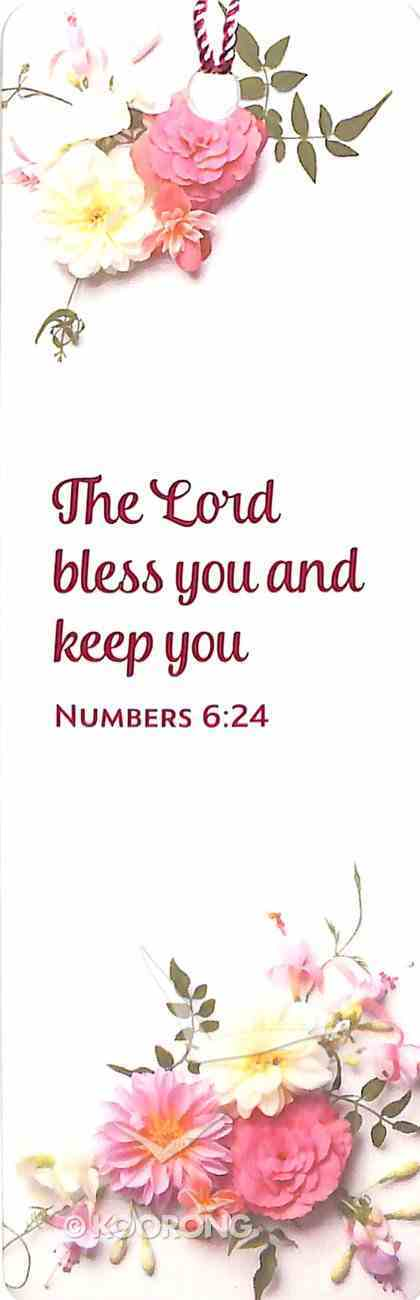 Bookmark With Tassel: Lord Bless You, the - Numbers 6:24 Stationery