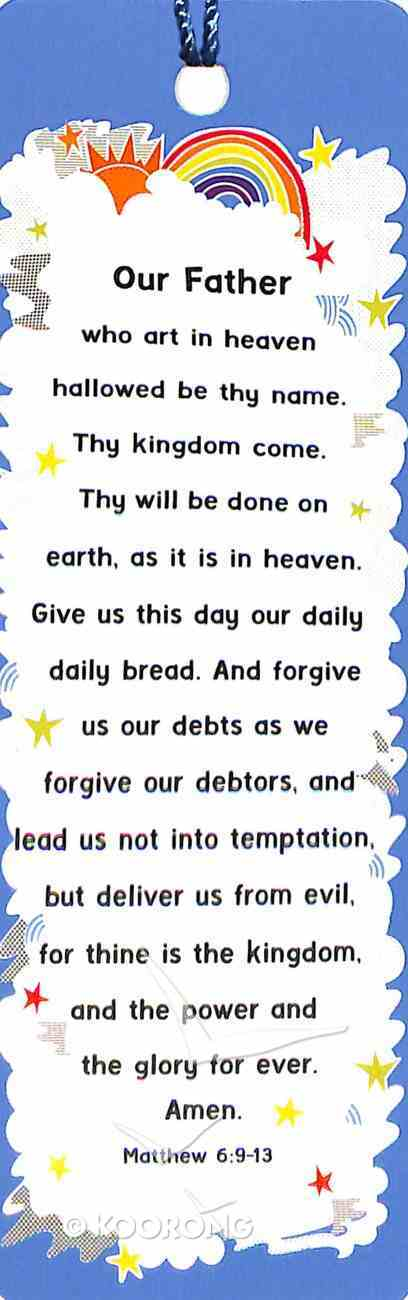 Bookmark With Tassel: The Lord's Prayer (Rainbow) Stationery