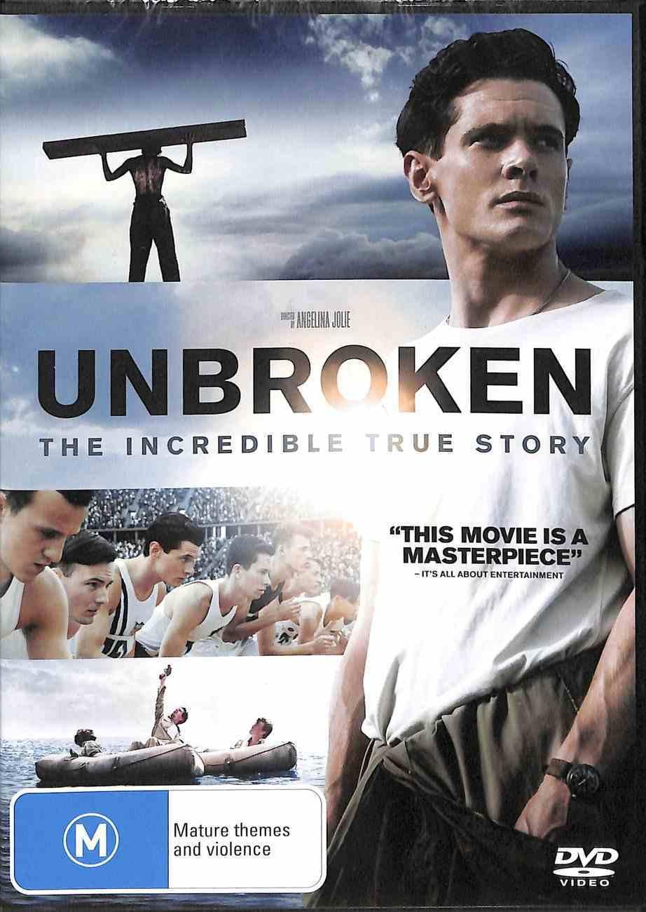 Unbroken (2015) DVD