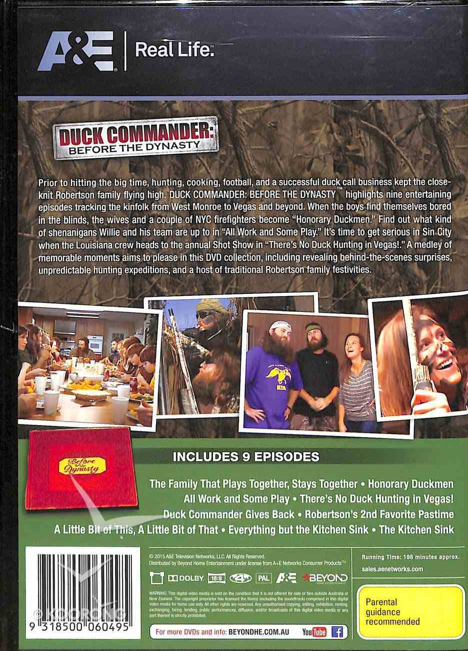 Duck Commander: Before the Dynasty (2 Dvd Set) DVD