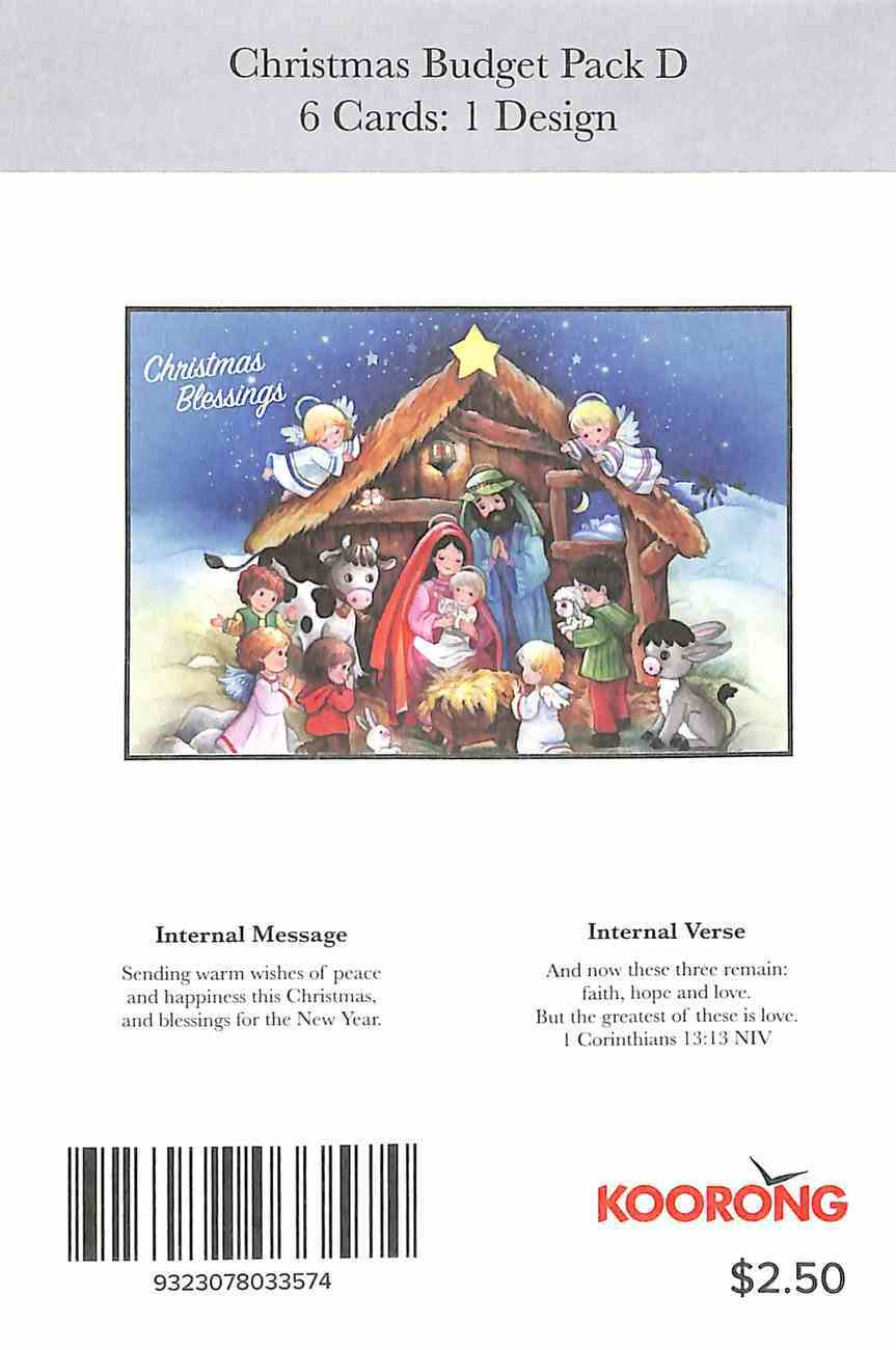 Christmas Card (Budget Pack D) Cards