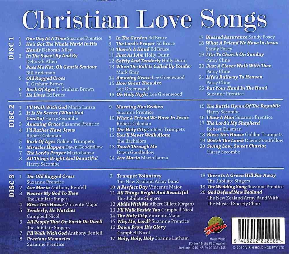 Christian Love Songs CD