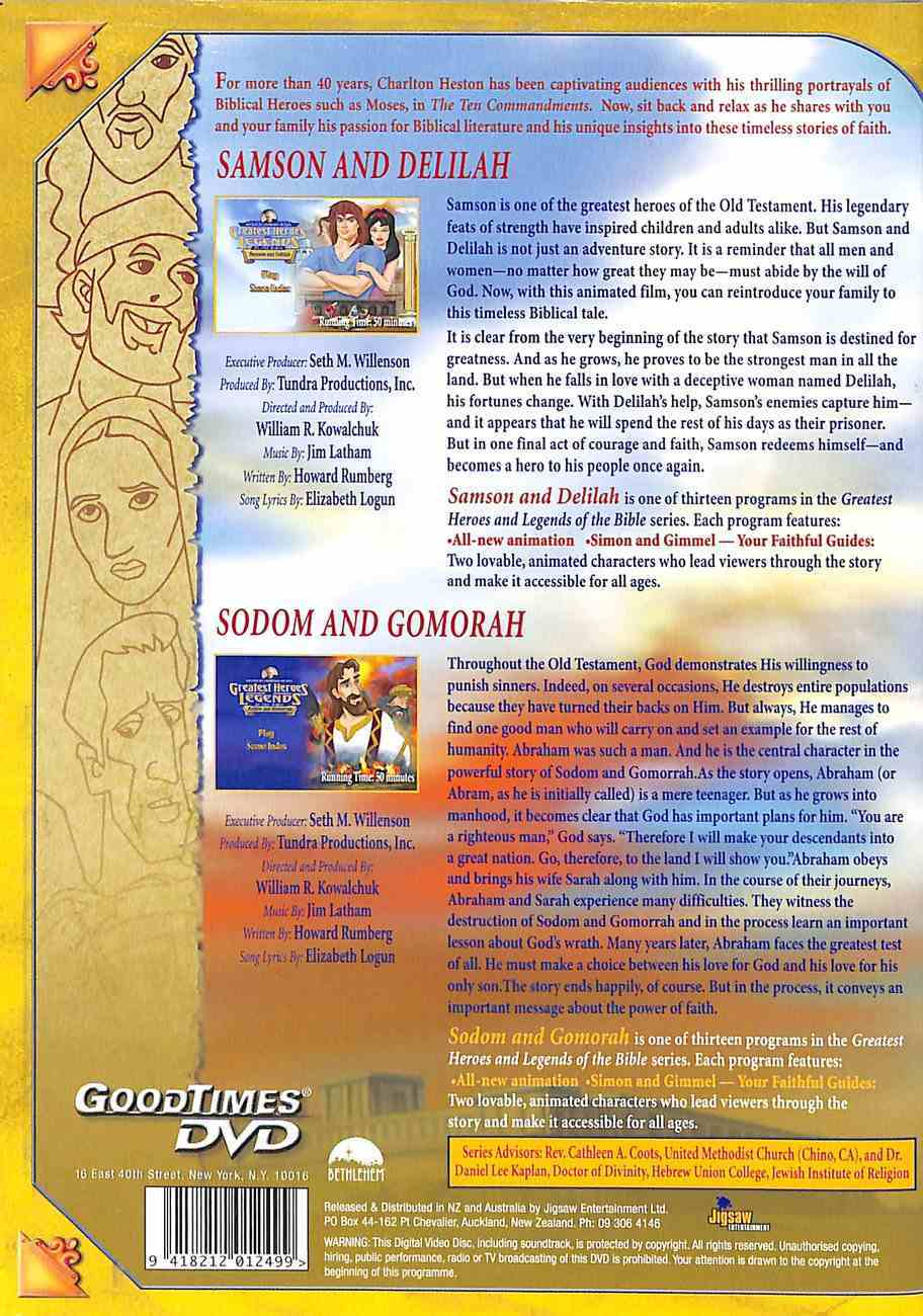 Samson and Delilah/Sodom and Gomorrah (Greatest Heroes & Legends Of The Bible Series) DVD