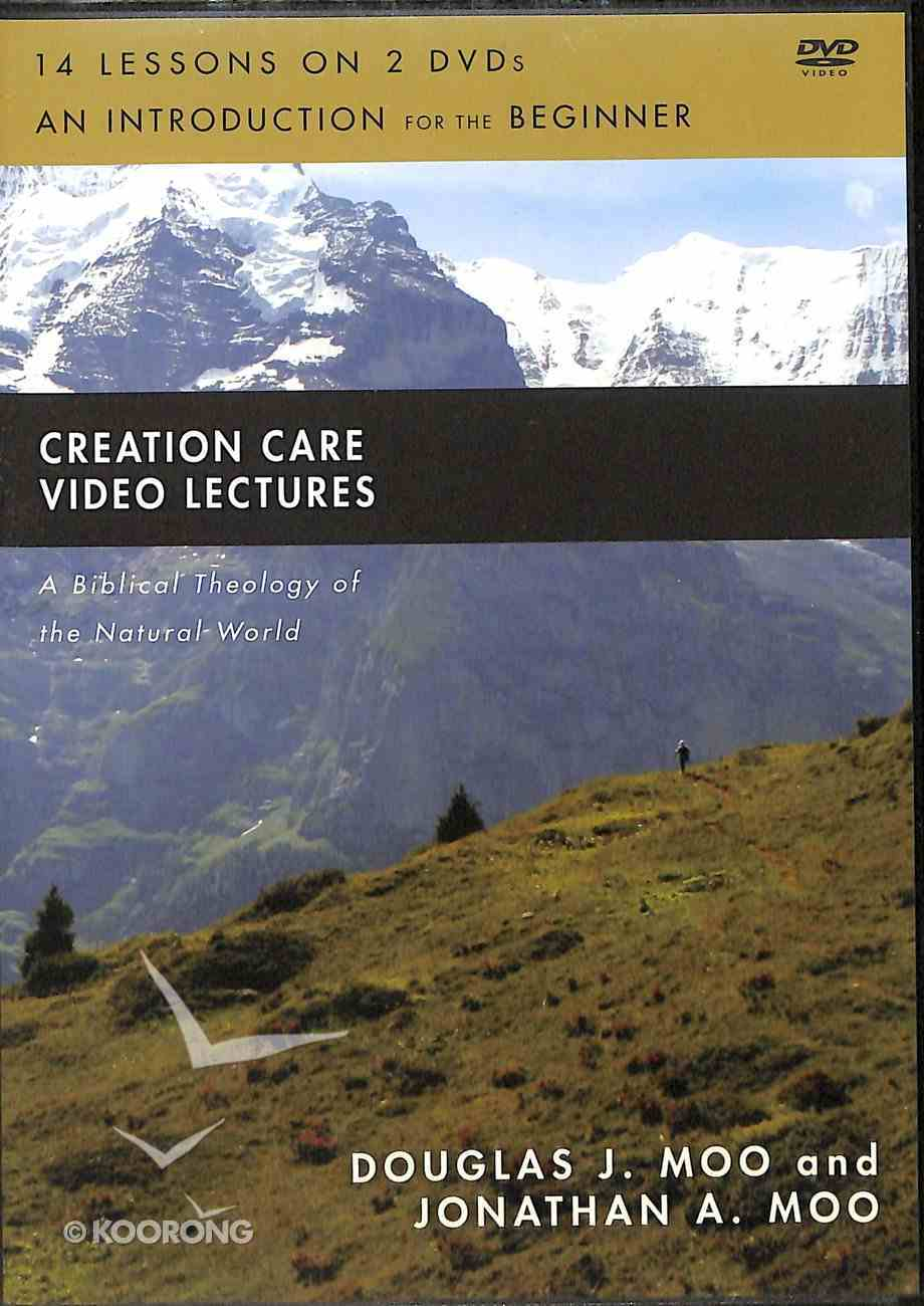 Creation Care : A Biblical Theology of the Natural World (Video Lectures) (Biblical Theology For Life Series) DVD