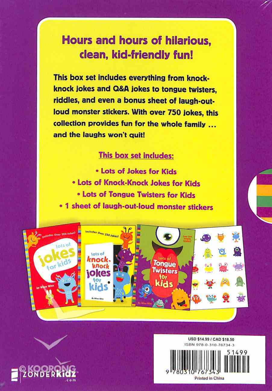 Lots of Jokes and Riddles Box Set: Over 750 Jokes For Kids Paperback