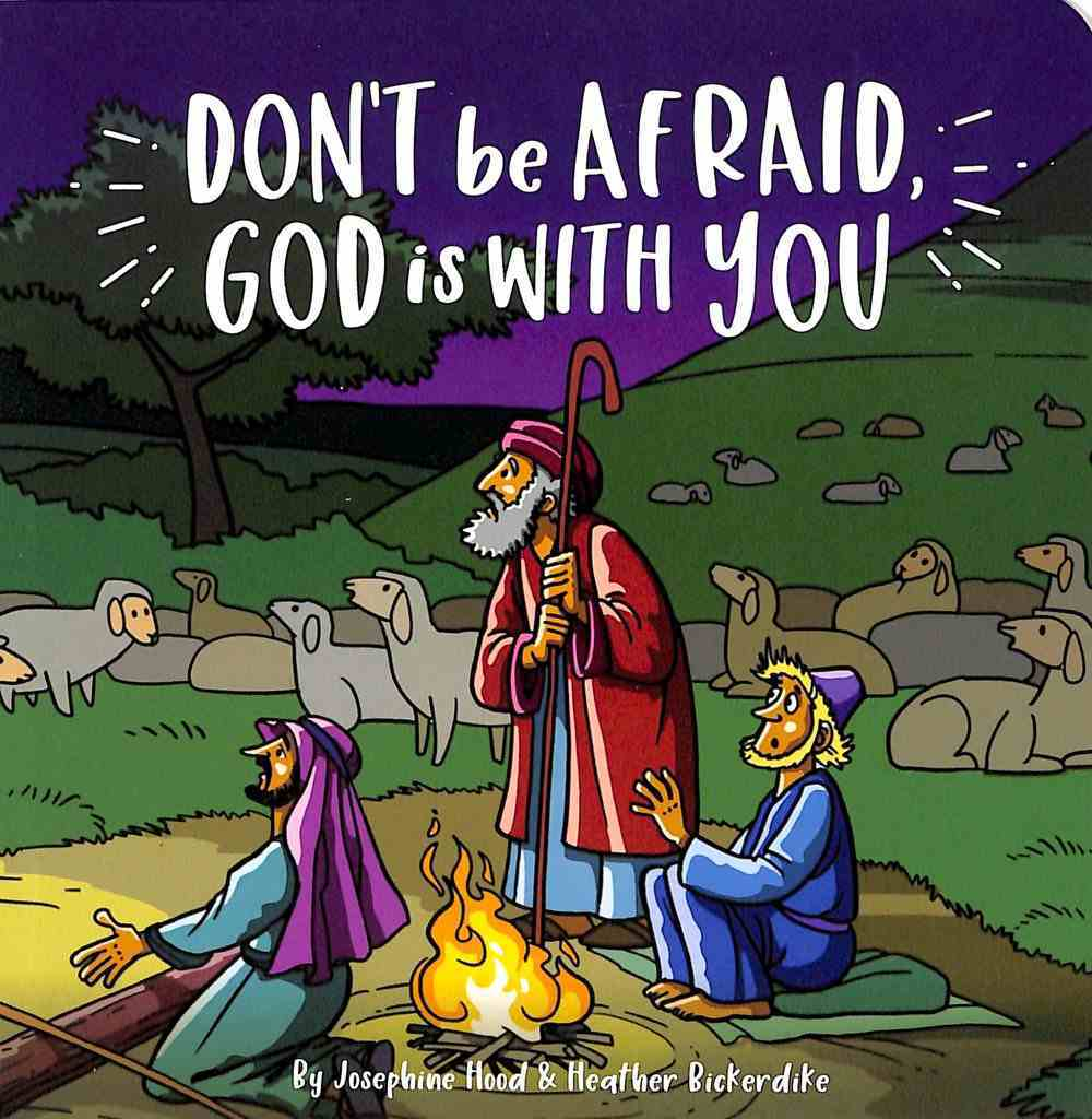Don't Be Afraid God is With You Board Book