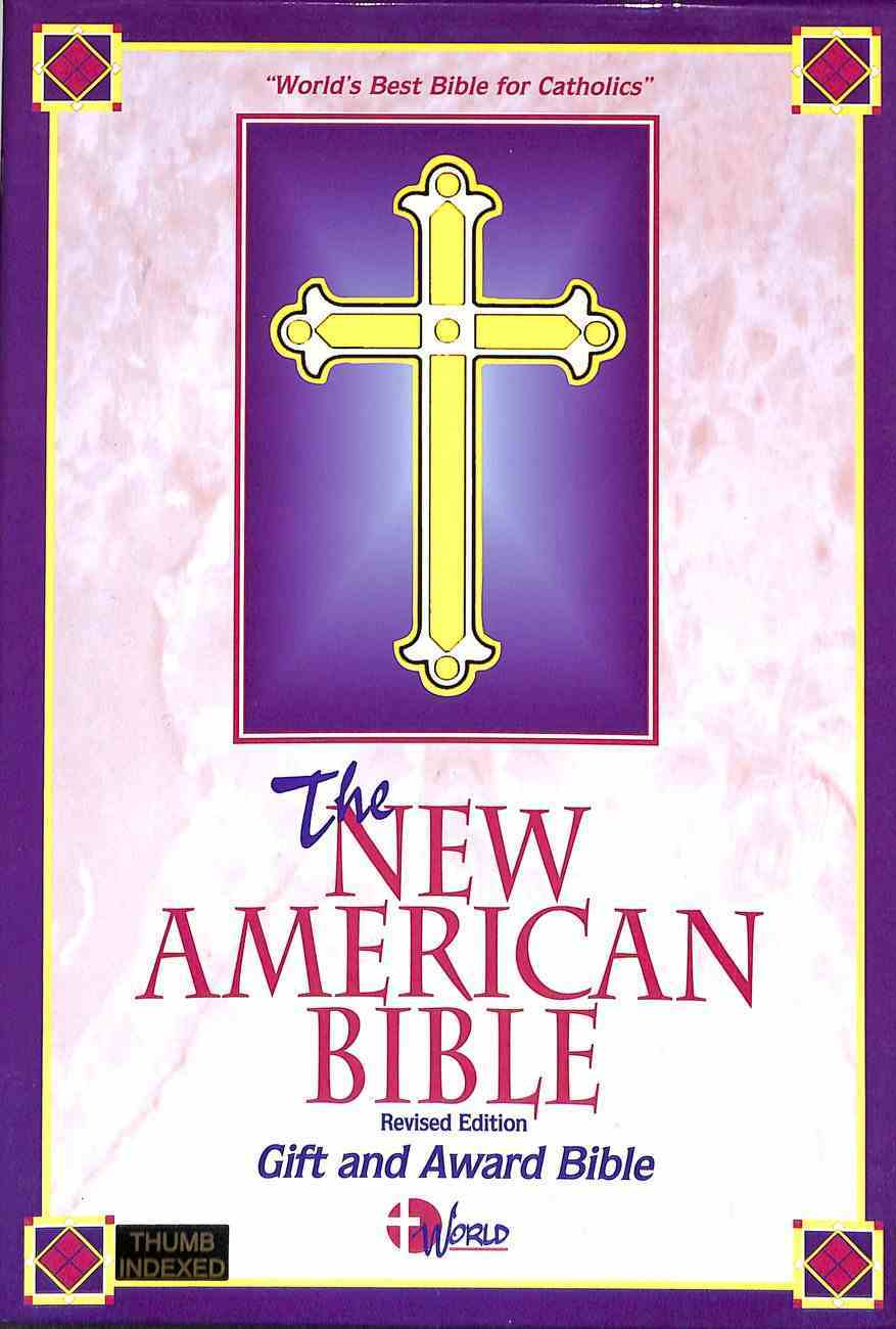 Nab Deluxe Gift Bible Black Indexed Bonded Leather