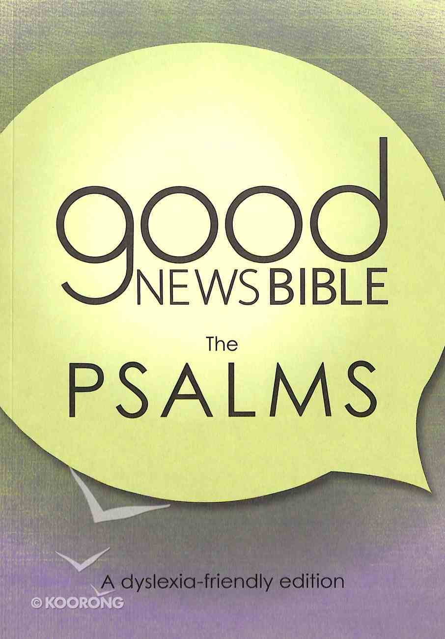 GNB Dyslexia-Friendly Psalms (Anglicised) Paperback