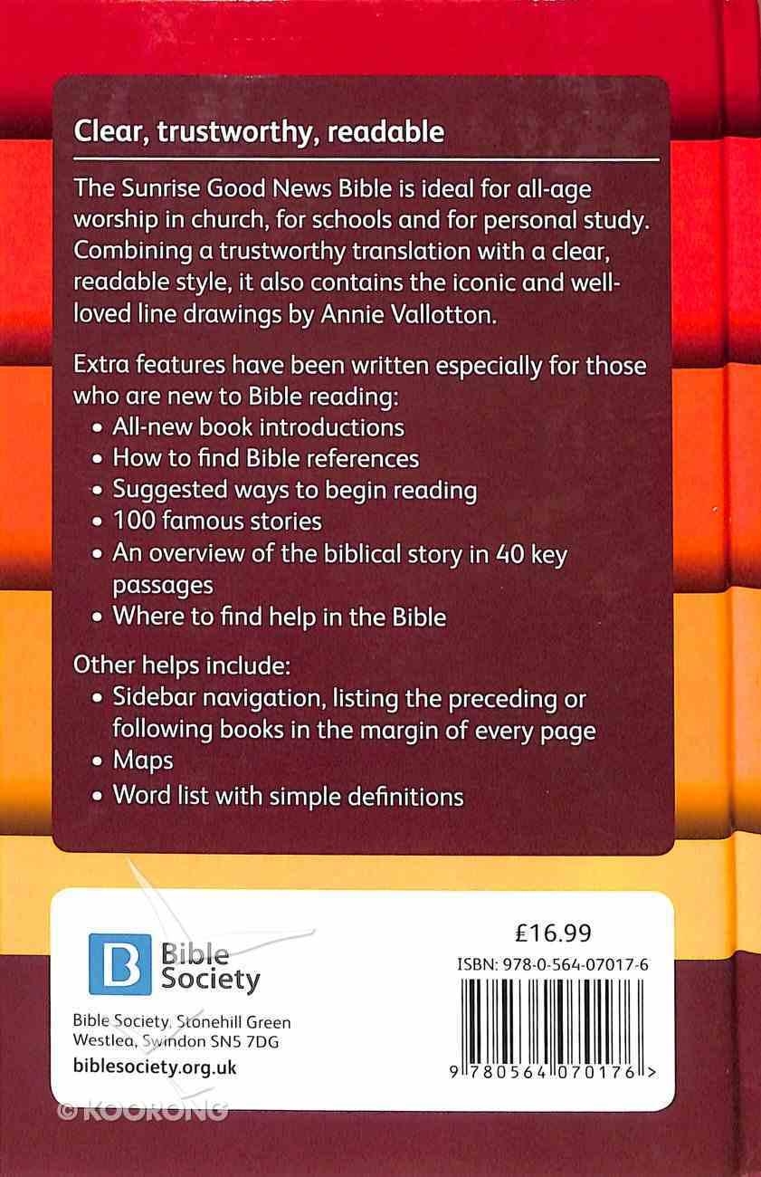 GNB Good News Bible Sunrise (Anglicised) Hardback
