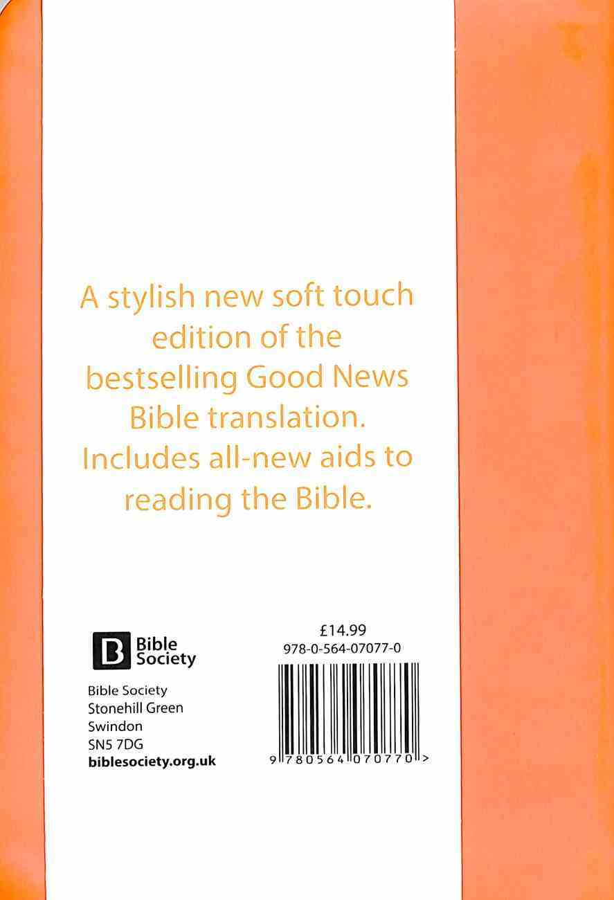 GNB Good News Bible Compact Orange (Anglicised) Imitation Leather