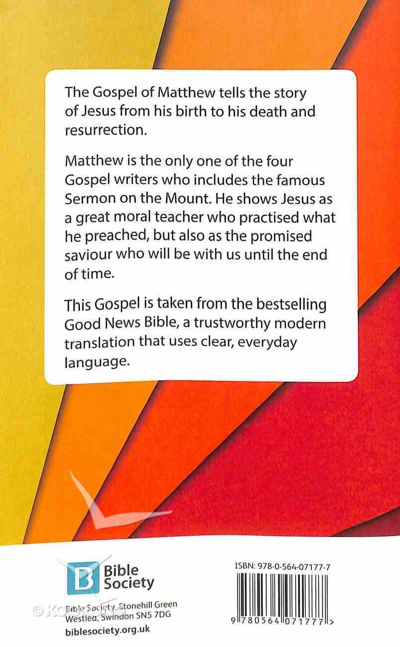 GNB Gospel of Matthew (Anglicised) Paperback