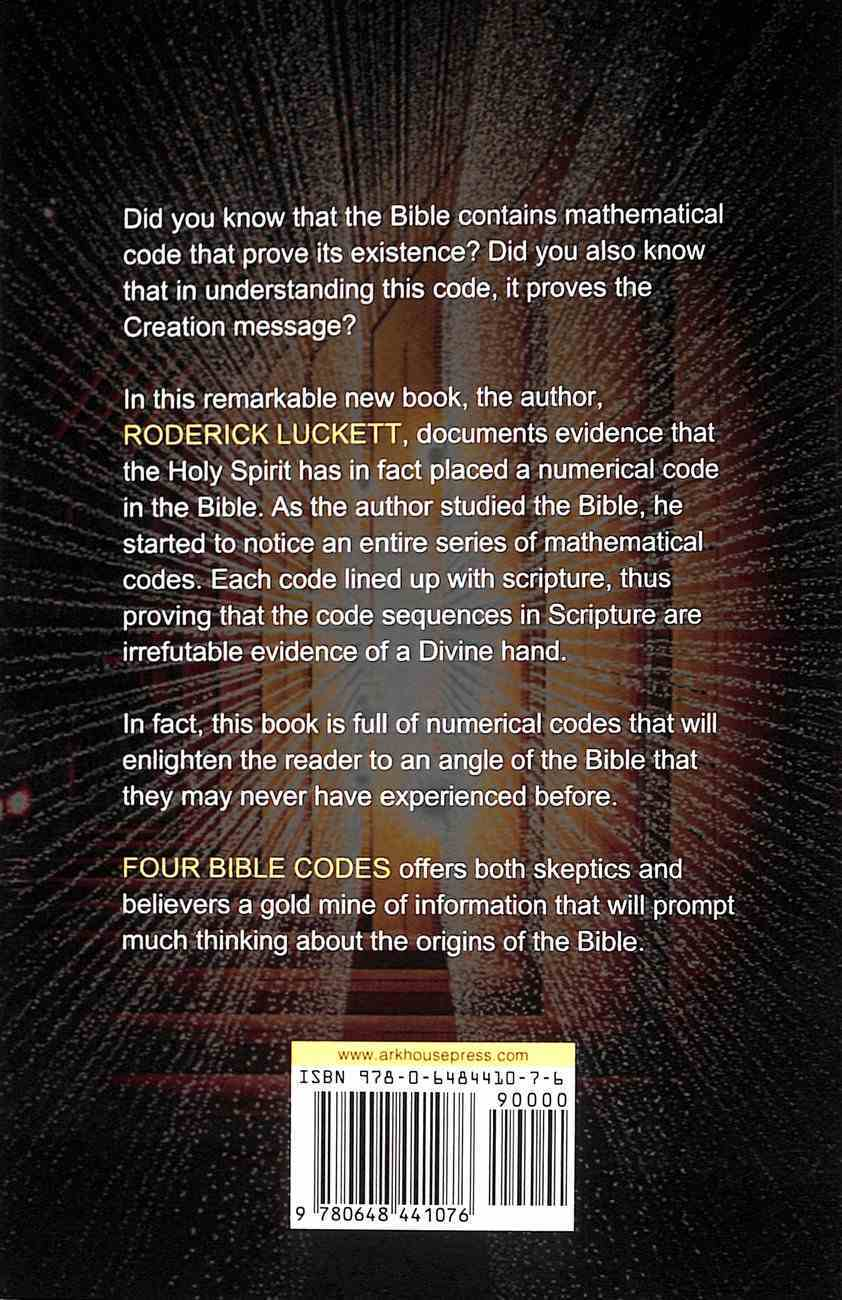 Four Bible Codes Paperback