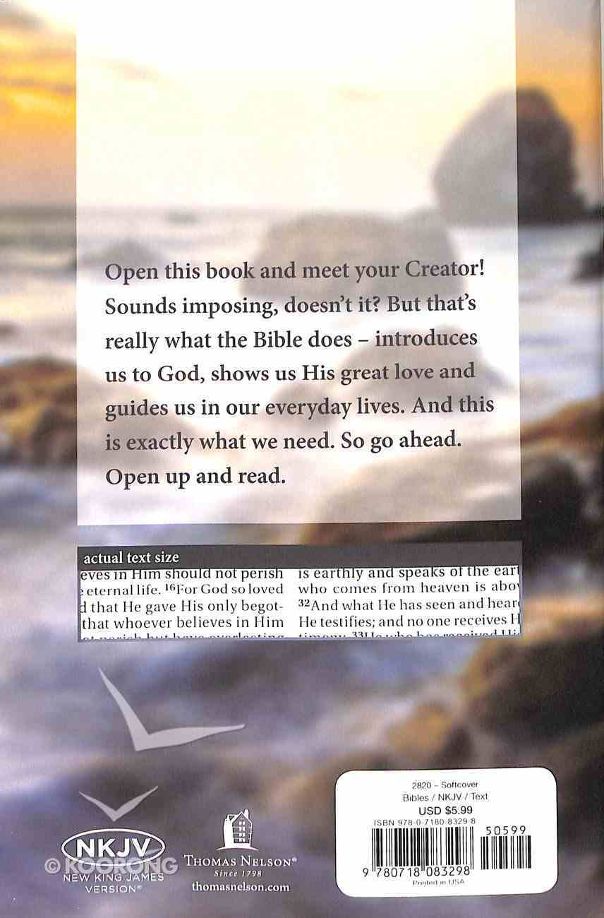 NKJV Outreach Bible Larger Print Paperback