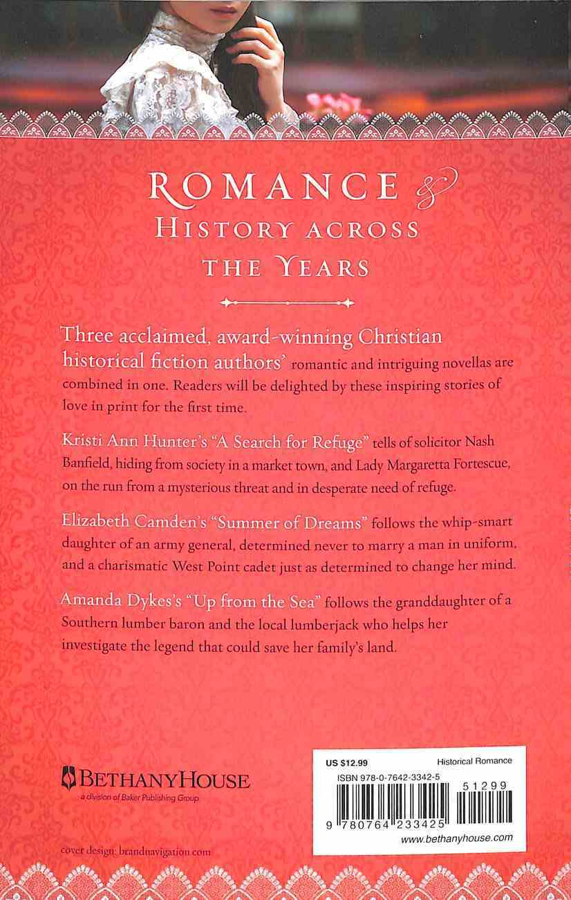 3in1: Love At Last - 3 Historical Romance Novellas of Love of Days Gone By Paperback