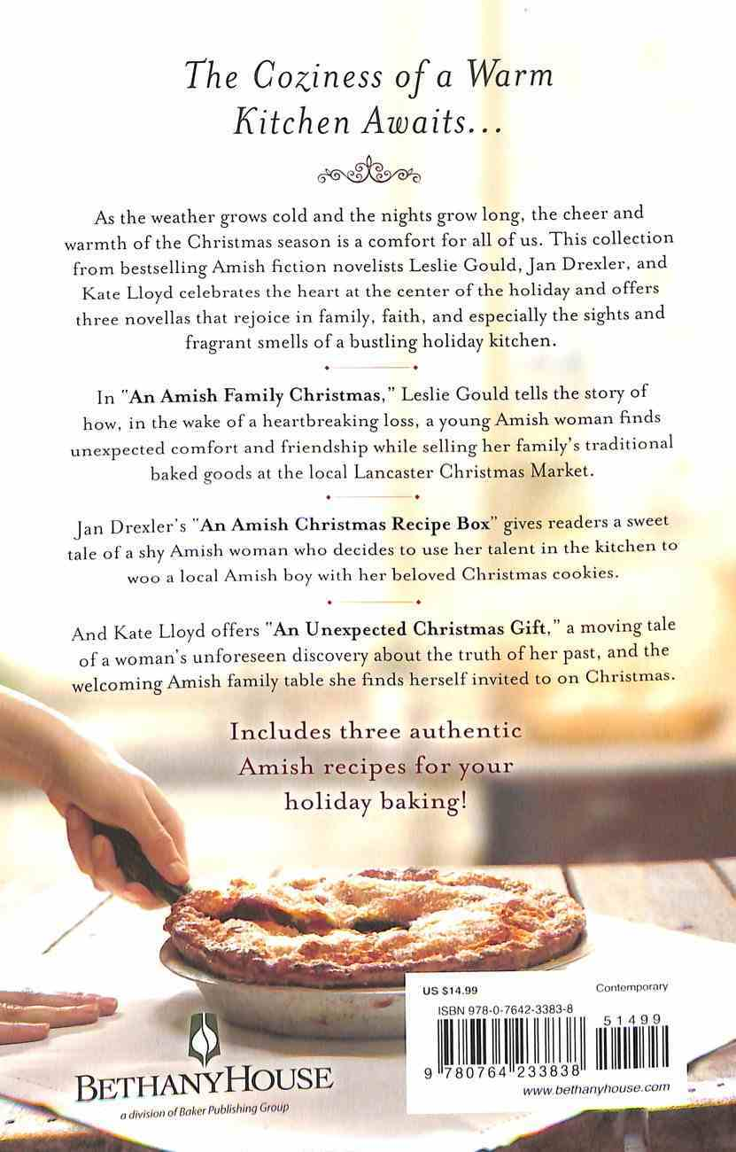 An Amish Christmas Kitchen (3 Books In 1) Paperback