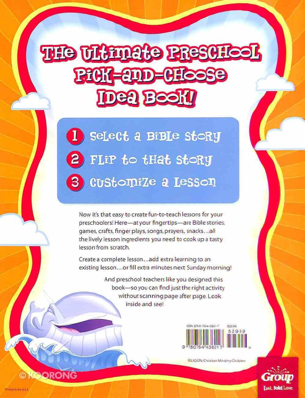 The Humongous Book of Preschool Ideas Paperback