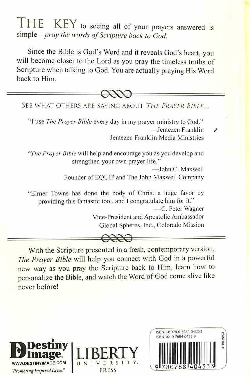 The Prayer Bible: A Modern Translation Hardback