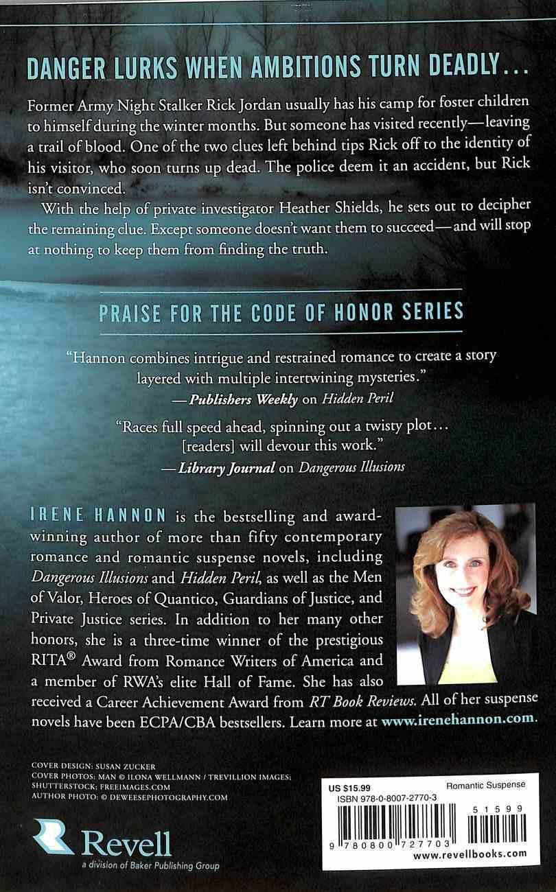 Dark Ambitions (#03 in Code Of Honor Series) Paperback