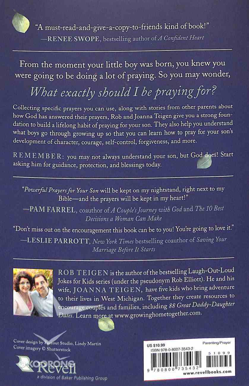 Powerful Prayers For Your Son: Praying For Every Part of His Life Paperback