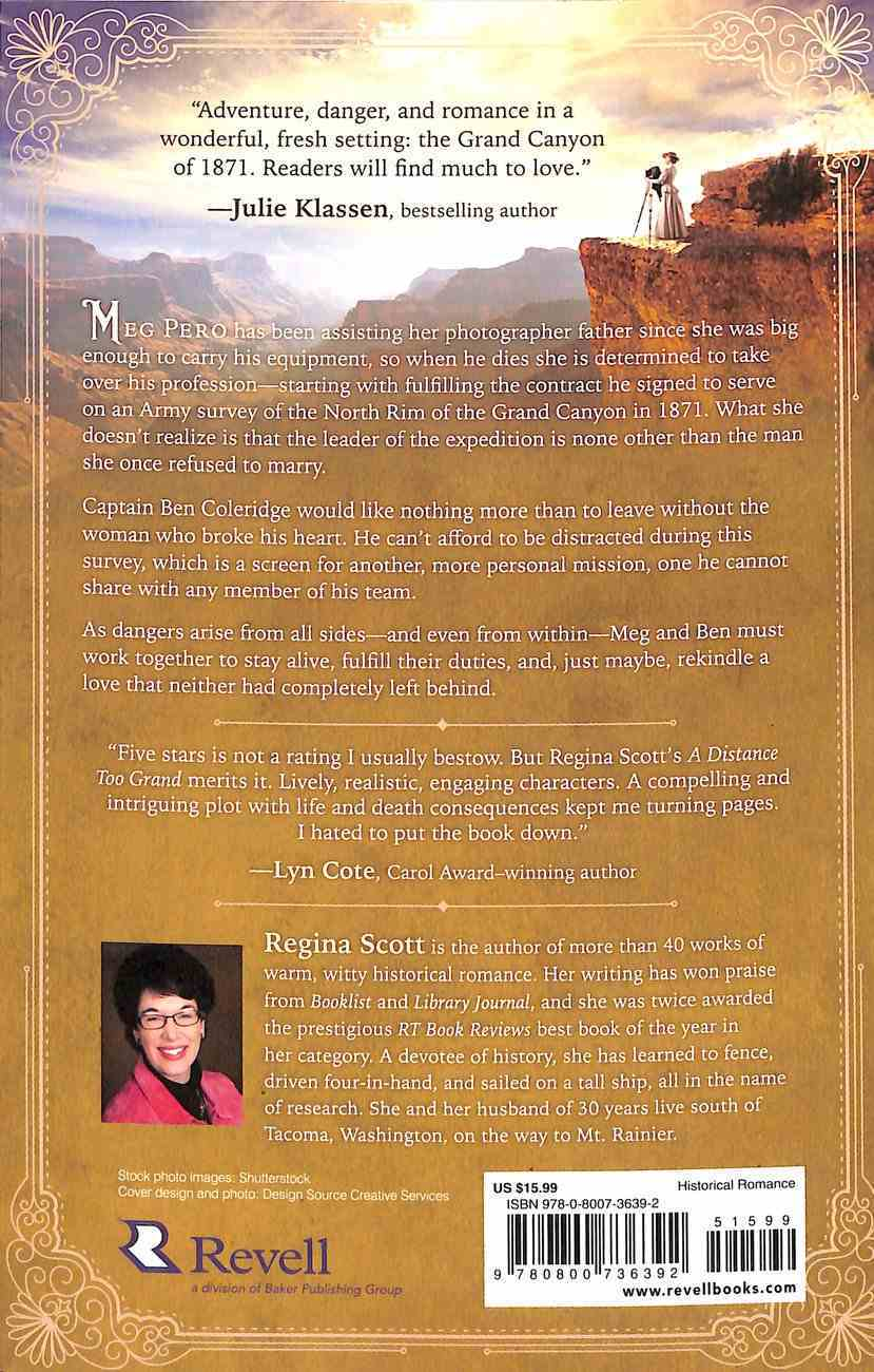 A Distance Too Grand (#01 in American Wonders Collection) Paperback